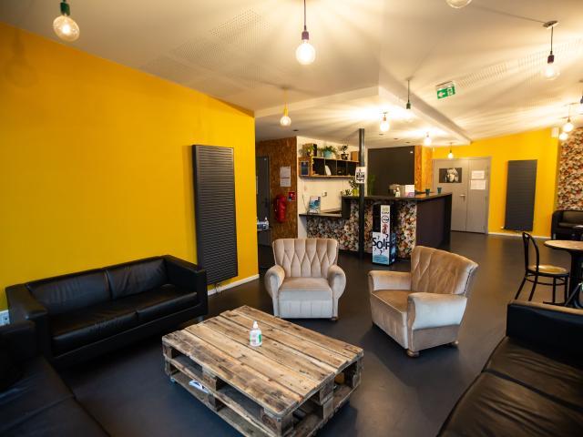Photo - Studio bleu